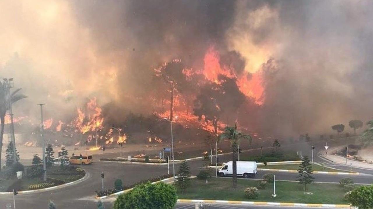 Manavgat yangını henüz kontrol altına alınmadı