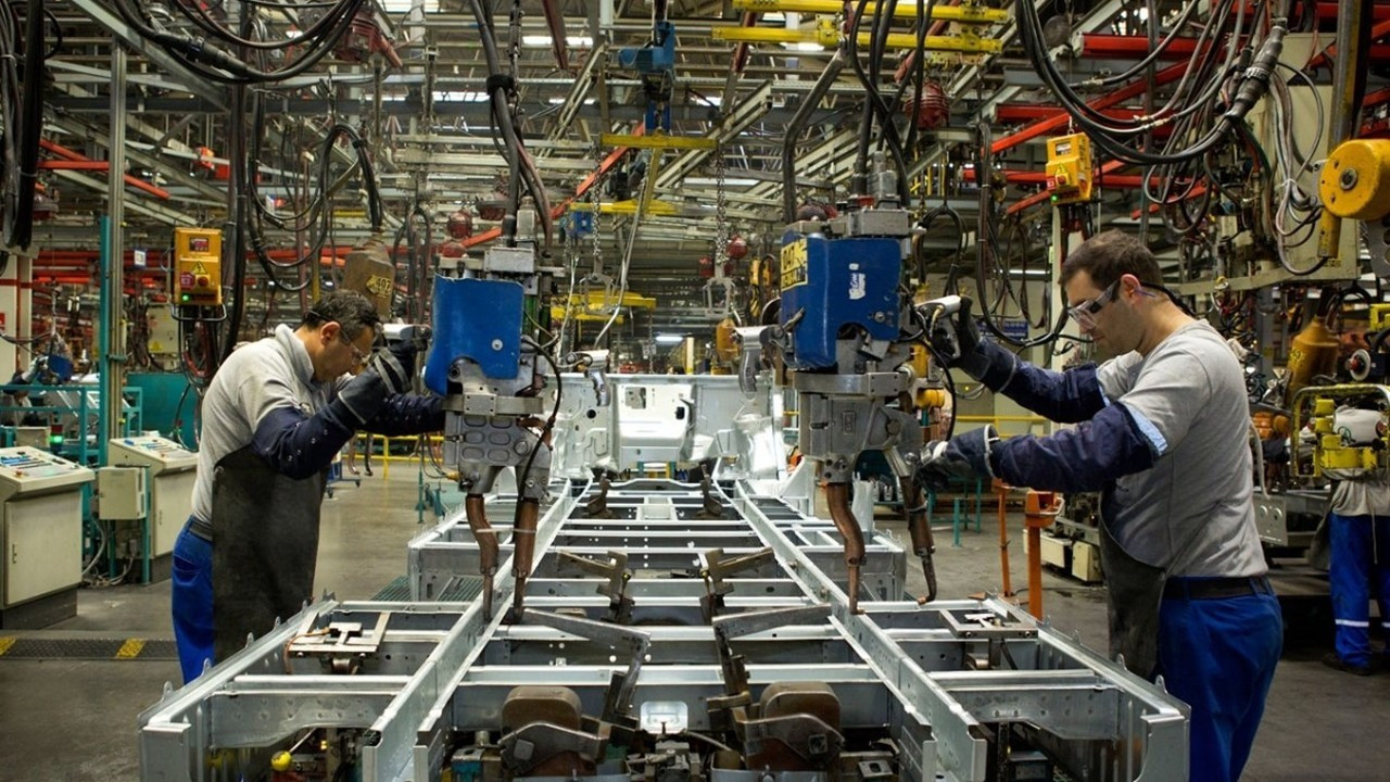 Sanayi üretimi haziran ayında yıllık yüzde 23,9 arttı