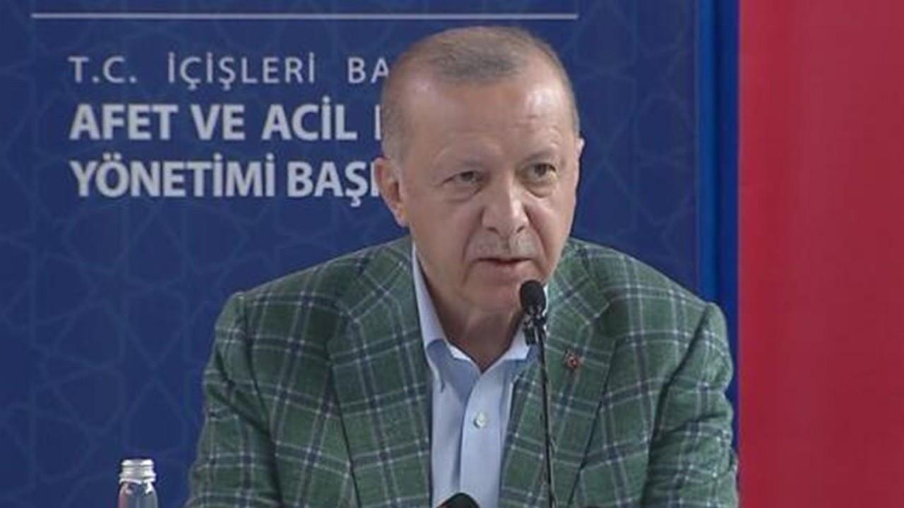 Cumhurbaşkanı Erdoğan: Can kaybı dışındaki her kaybı telafi edecek güce sahibiz