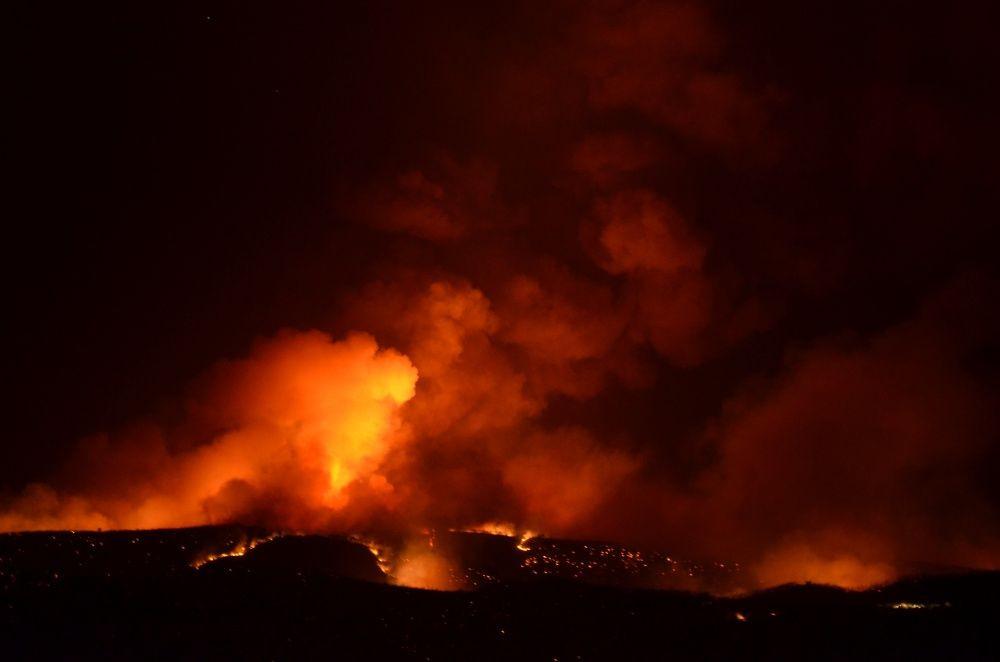 Milas ve Bodrum'da alevler geceyi aydınlattı - Sayfa 1