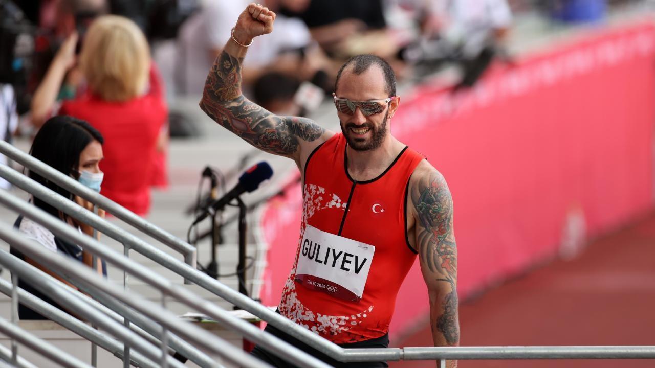 Ramil Guliev, 200 metrede yarı finalde