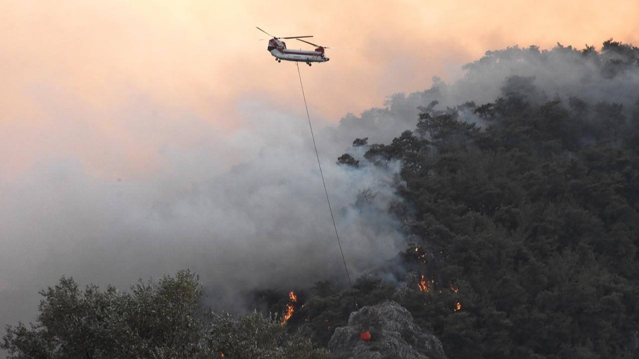 Orman yangınlarına 6 ülkeden hava desteği