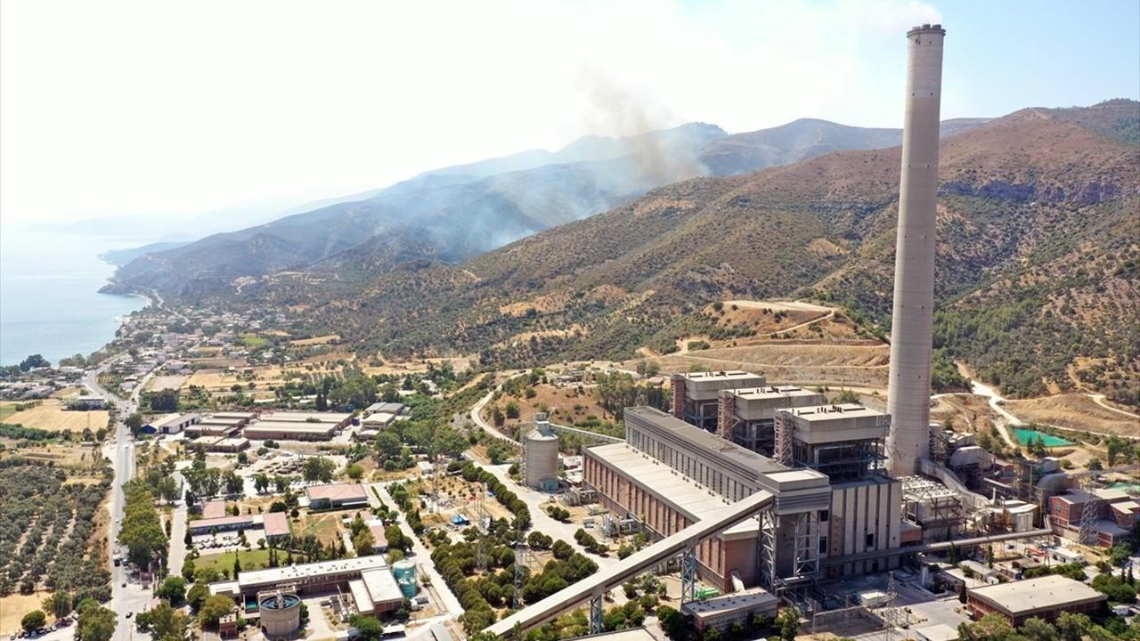 Termik santral ile yangın arasında 400 metre kaldı