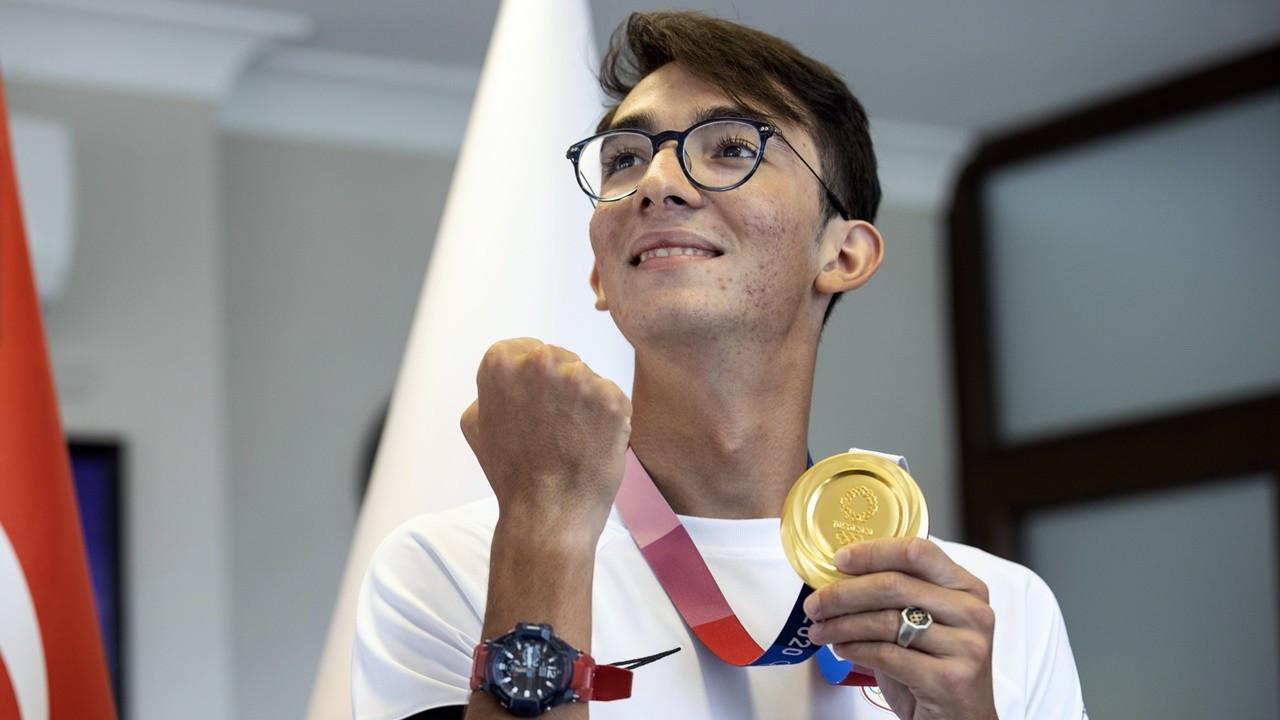 Şampiyon Mete Gazoz: Altın madalyayı 5 yıl önce hissettim