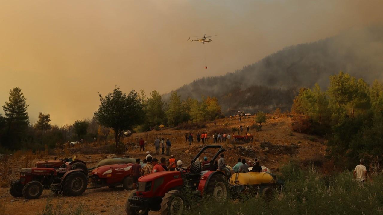 Son durum: Orman yangınlarıyla mücadele sürüyor