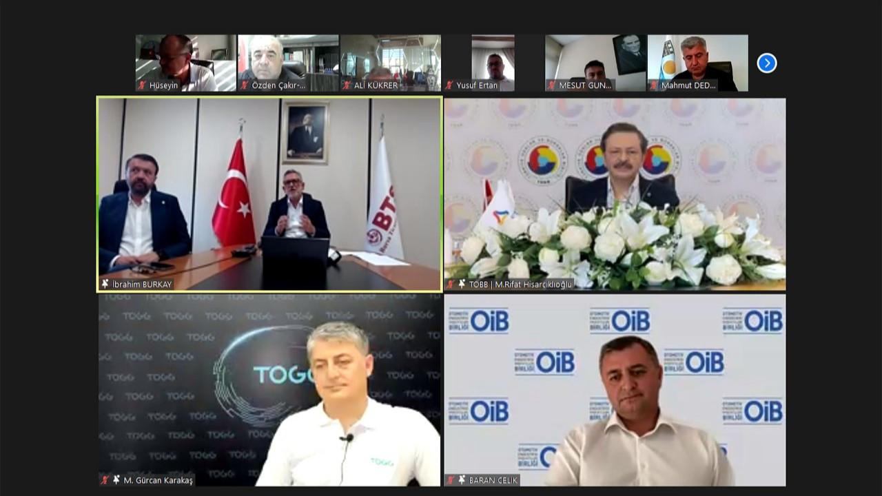 """""""TOGG ile Bursa'ya teknoloji üssü kazandırıyoruz"""""""