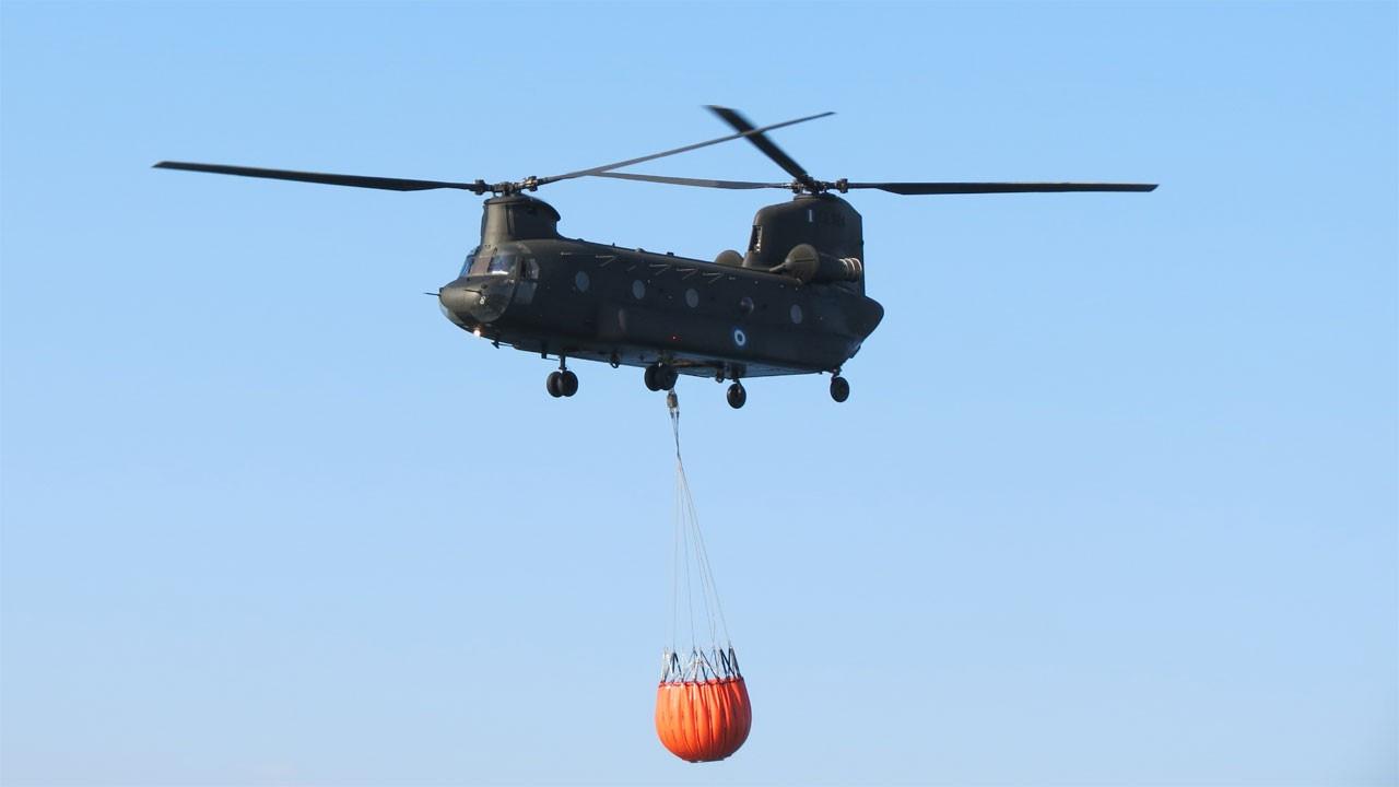 ABD, iki yangın sördürme helikopteri gönderiyor