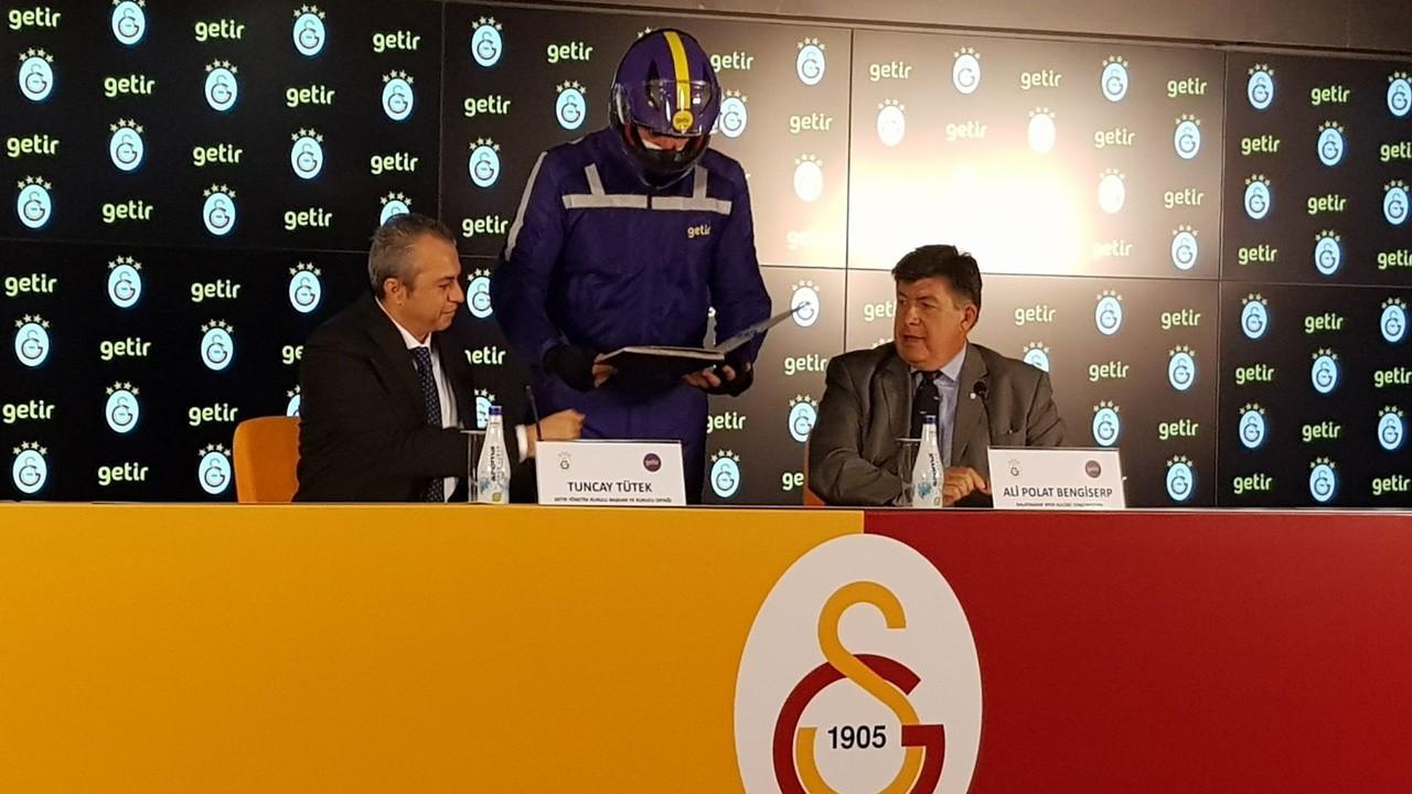Galatasaray'ın yeni sponsoru Getir