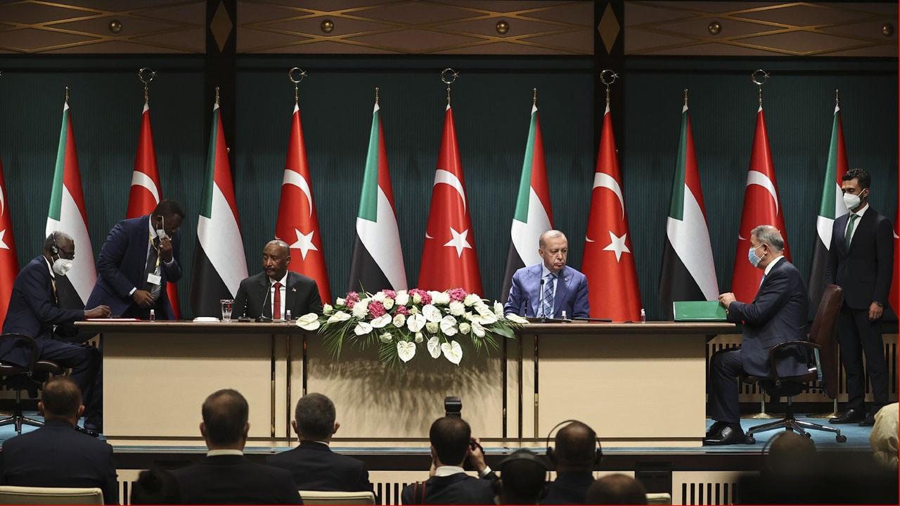 Türkiye ile Sudan arasında 6 anlaşma