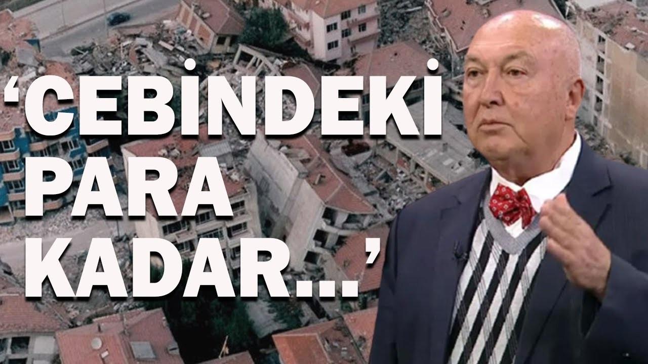 Prof. Dr. Ahmet Ercan Ekonomik Gelirle Deprem İlişkisini Anlattı