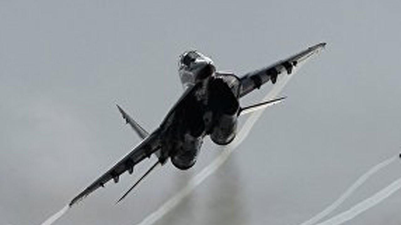 Rusya'da Mig-29 düştü: 1 ölü