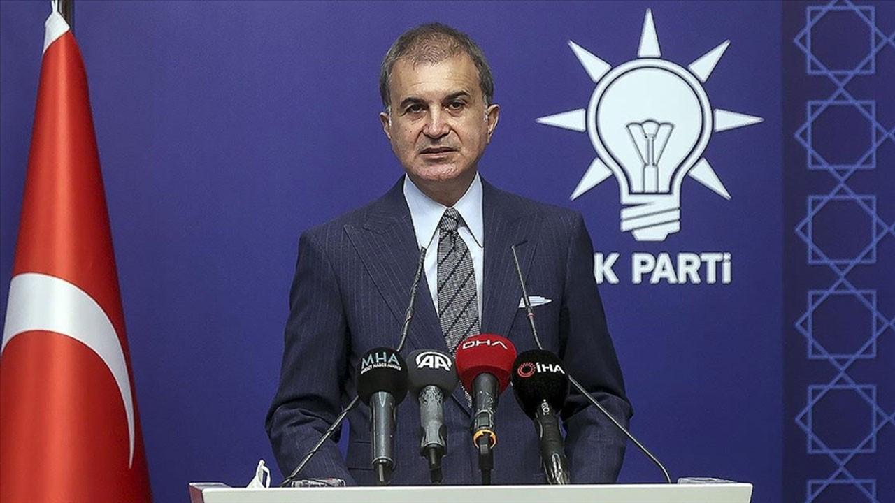 Ömer Çelik: Türkiye bir göçmen kampı değildir
