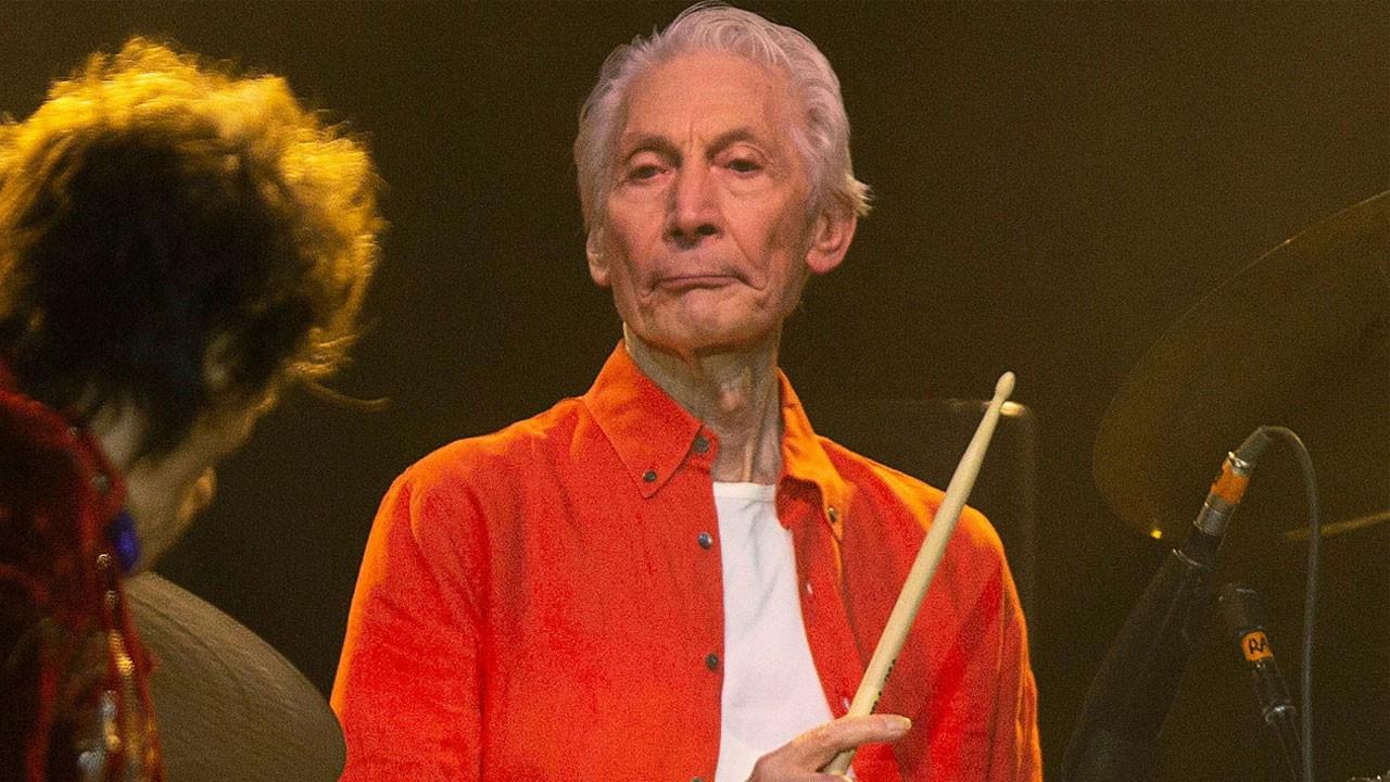 Rolling Stones'un davulcusu Charlie Watts vefat etti