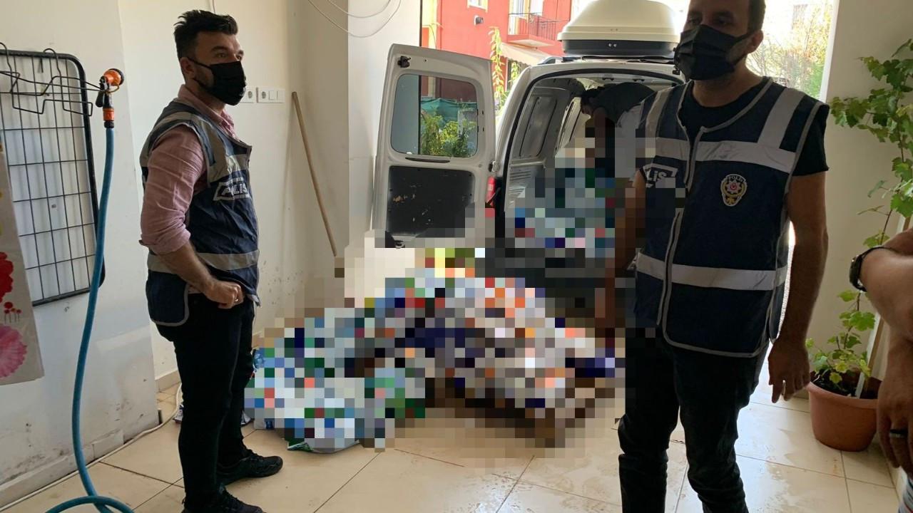 Kocaeli'de 1 ton toz deterjan yakalandı