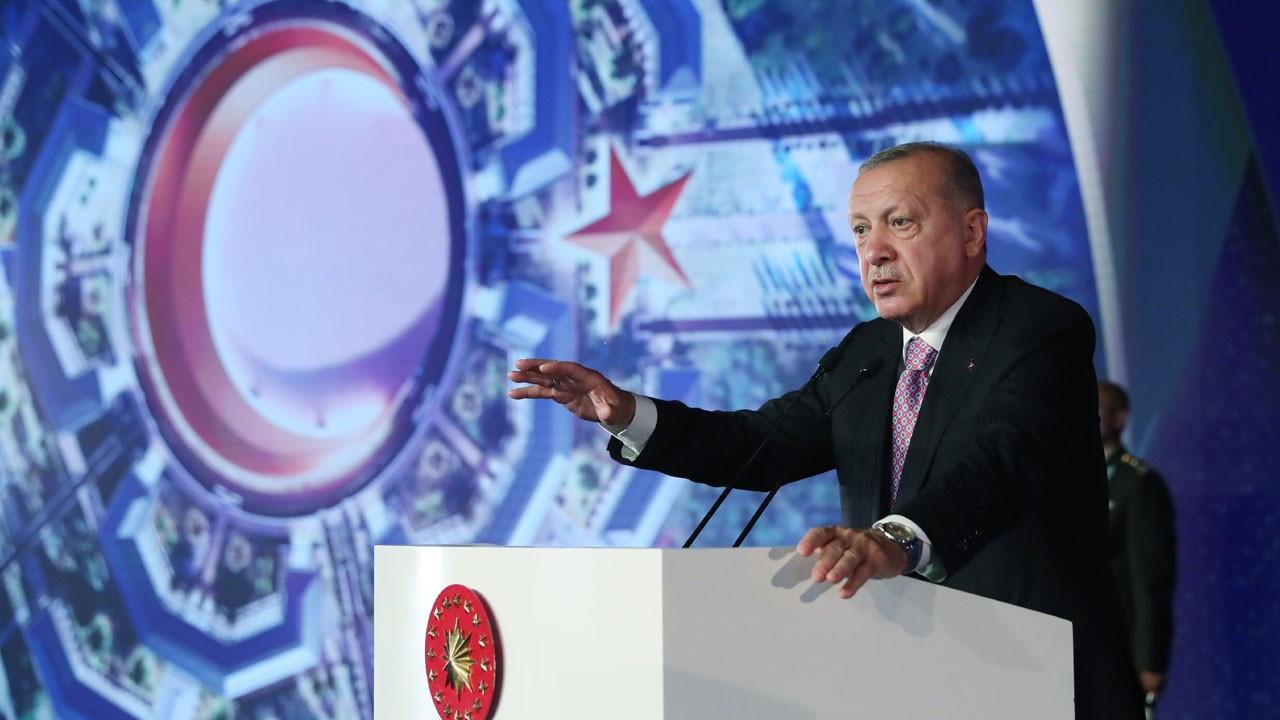 Erdoğan, Ay Yıldız Projesi Temel Atma Töreninde konuştu