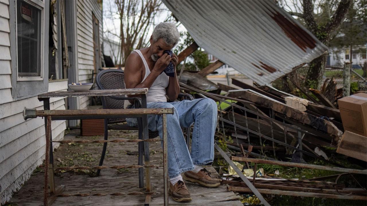 İda Kasırgası Louisiana'da 1 milyondan fazla aboneyi elektriksiz bıraktı