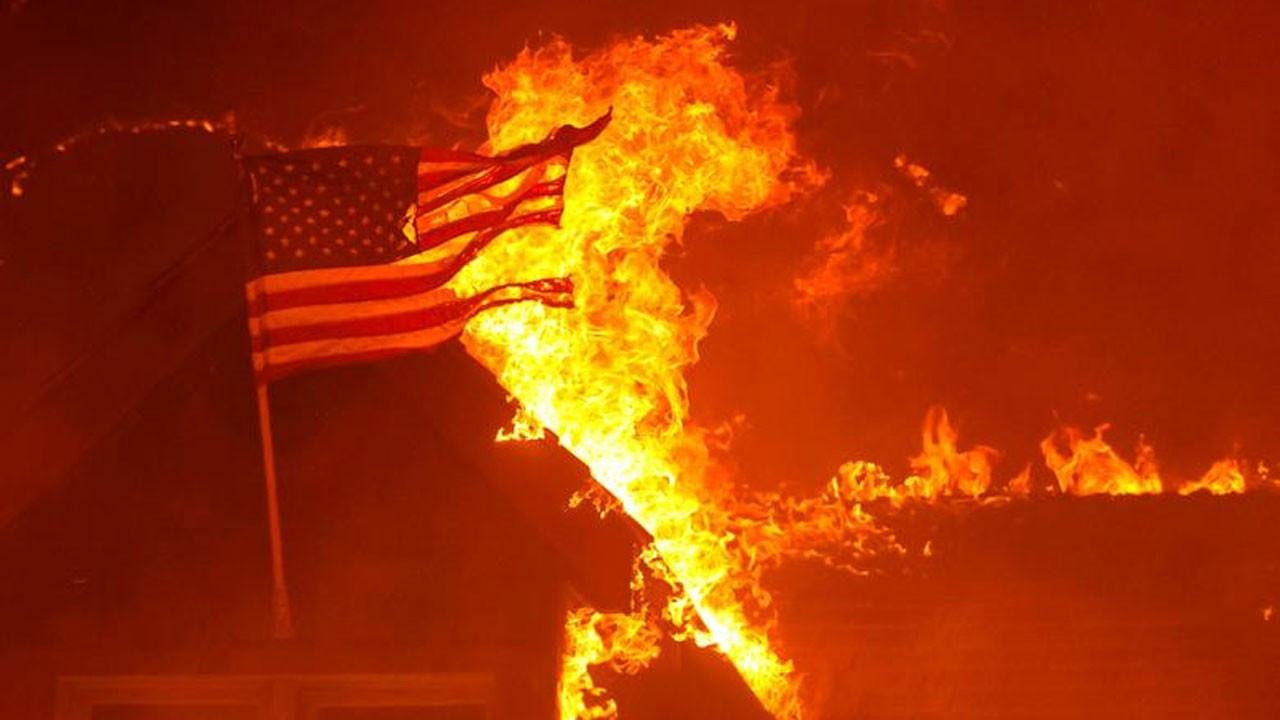 ABD'deki 'Caldor' yangını 756 kilometrekare alanı sardı
