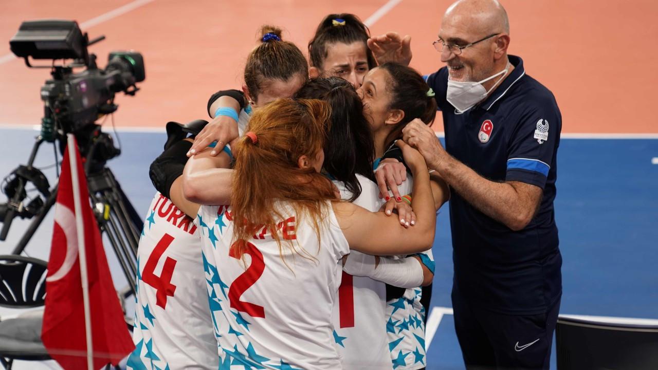 Türkiye'ye golbol'da altın madalya kazandı