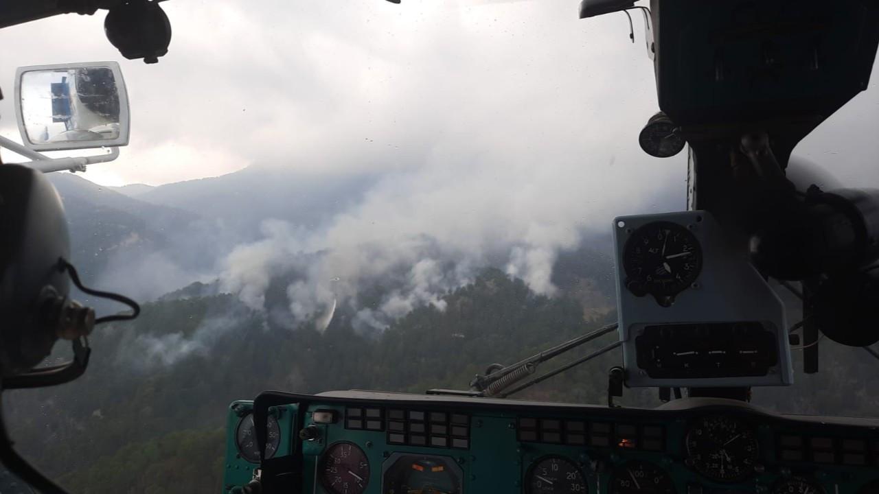 Manavgat'taki orman yangını söndürüldü