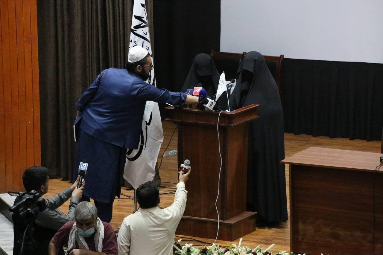 Kadınlardan Taliban'a 'destek' etkinliği - Sayfa 1