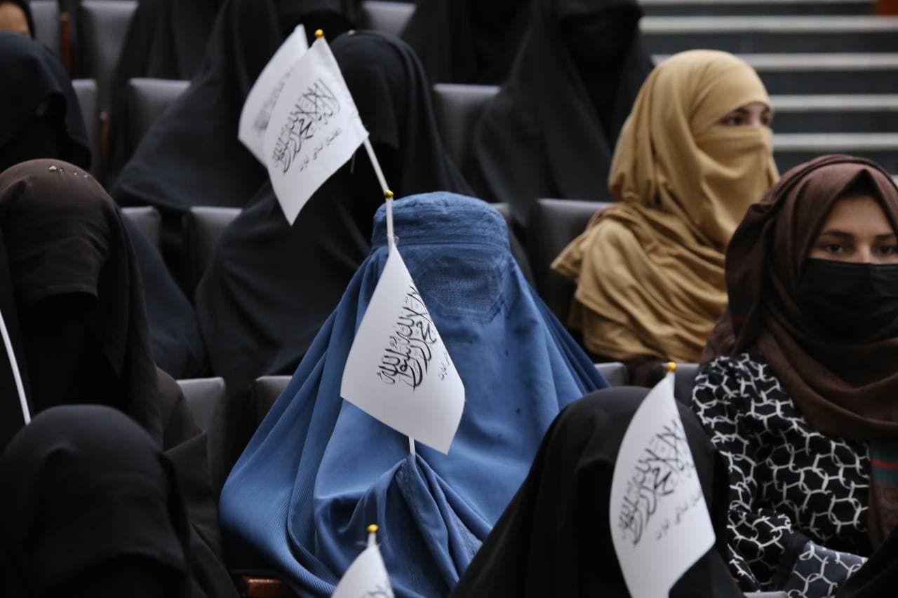 Kadınlardan Taliban'a 'destek' etkinliği - Sayfa 2