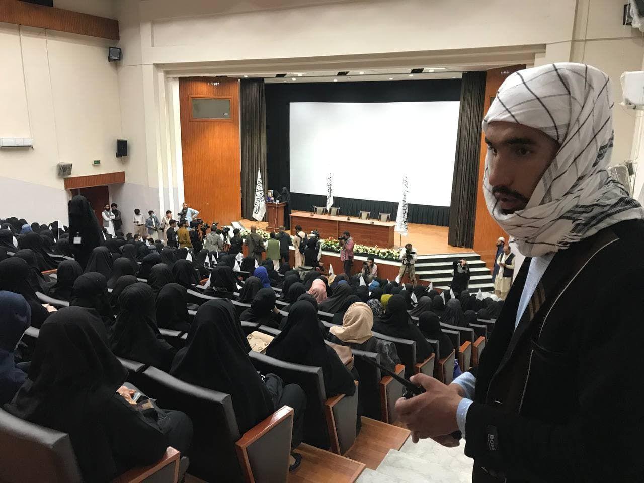 Kadınlardan Taliban'a 'destek' etkinliği - Sayfa 3