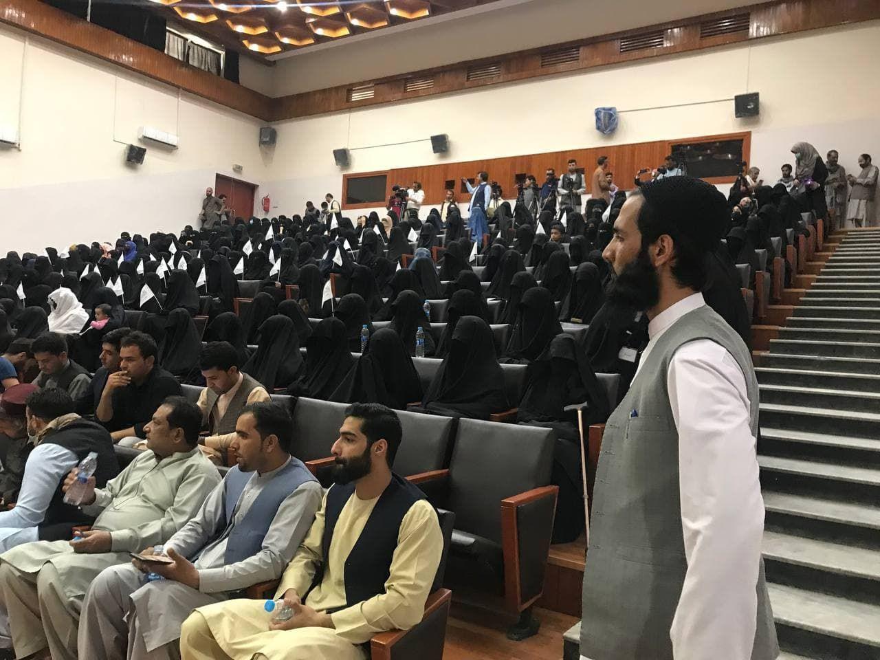 Kadınlardan Taliban'a 'destek' etkinliği - Sayfa 4