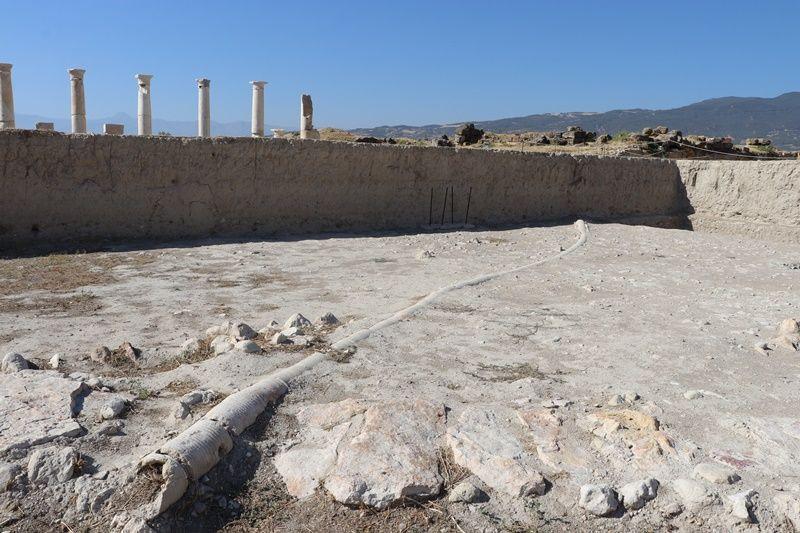 Tripolis Antik Kenti'nde 2 bin yıllık devasa kanalizasyon bulundu - Sayfa 4