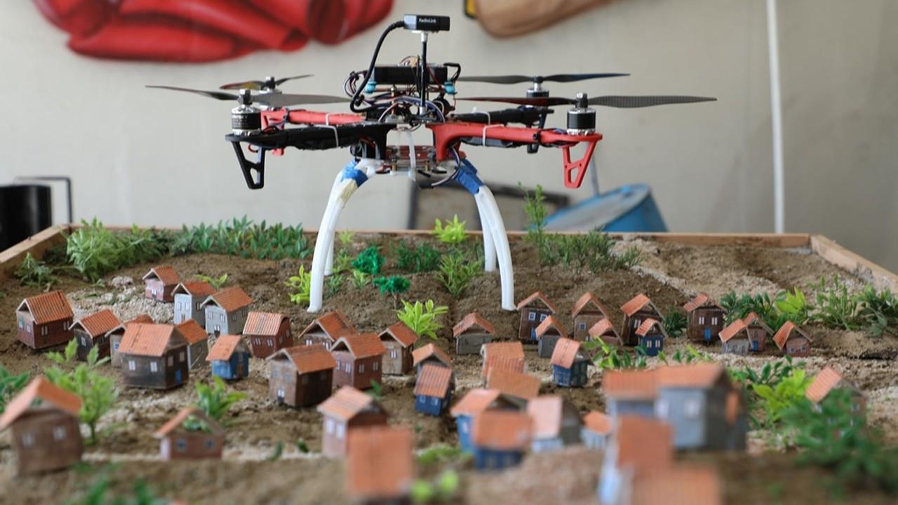 Fezakadı Drone Takımı Teknofest'e hazır