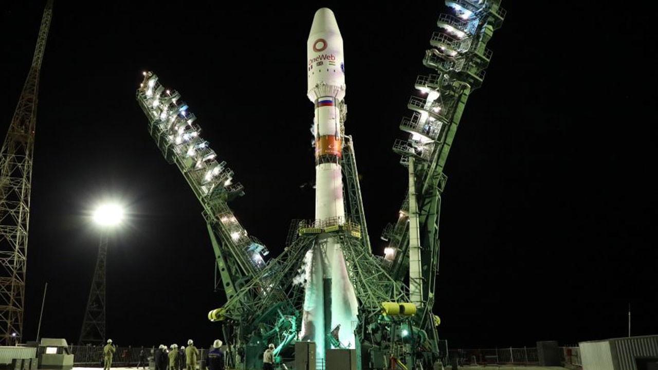 Rusya, One Web'in 34 uydusunu daha uzaya fırlattı