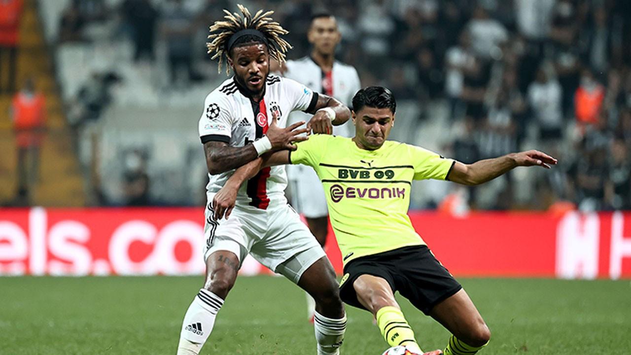 Beşiktaş 'Devler Ligi'ne kötü başladı: 2-1
