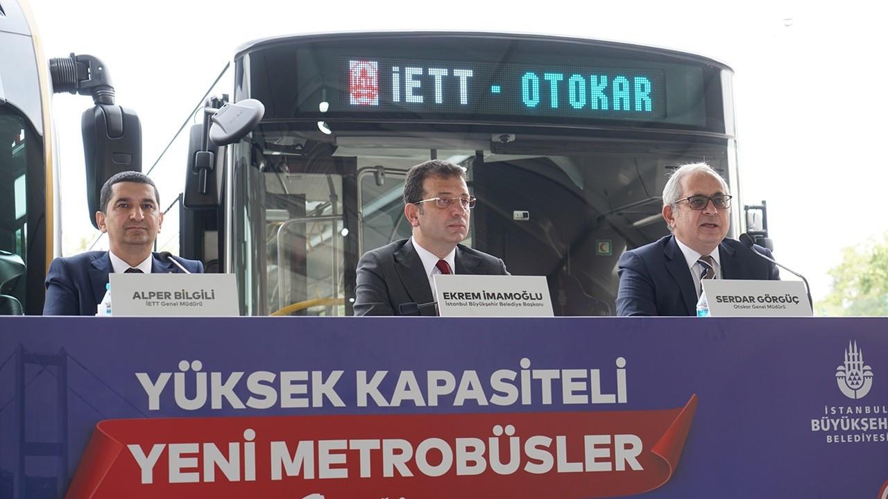 İstanbul'a 100 yeni metrobüs alımı için imzalar atıldı