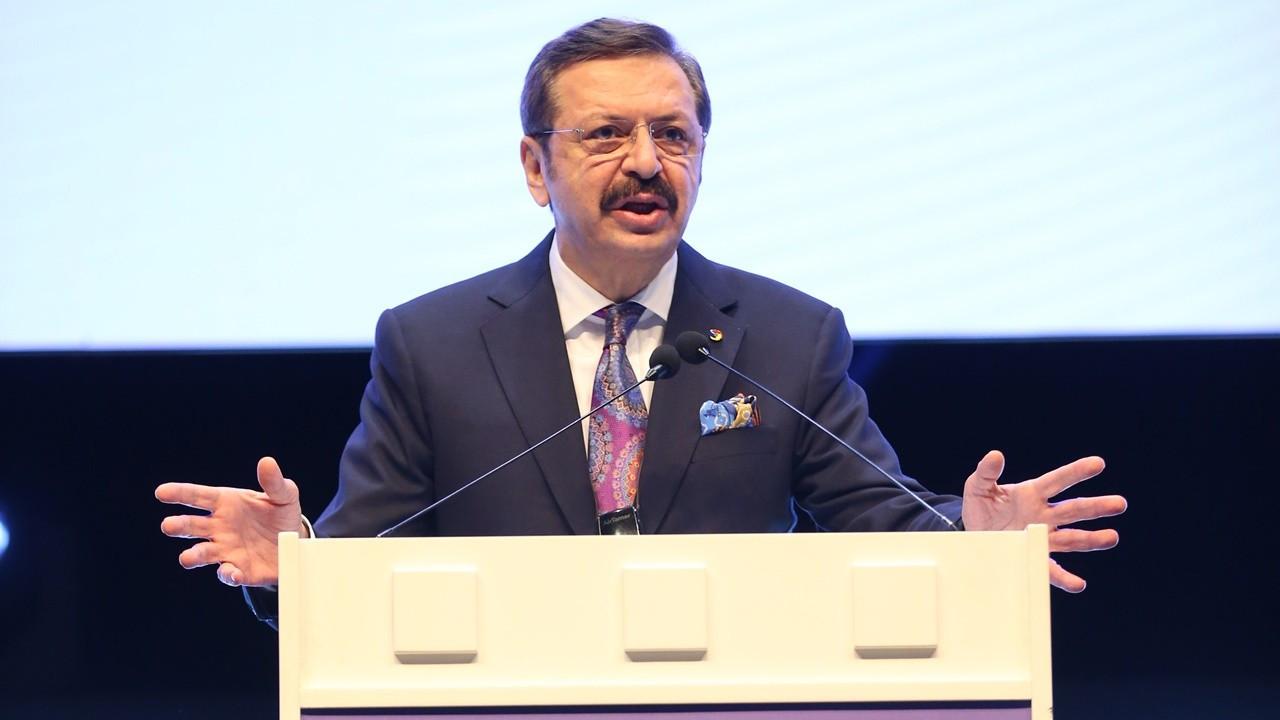 TOBB Başkanı Hisarcıklıoğlu: Dünyanın en değerli arazisi akıllı telefon ekranıdır
