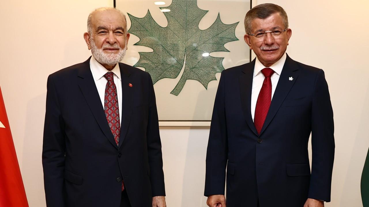 Karamollaoğlu ve Davutoğlu'ndan seçim açıklaması