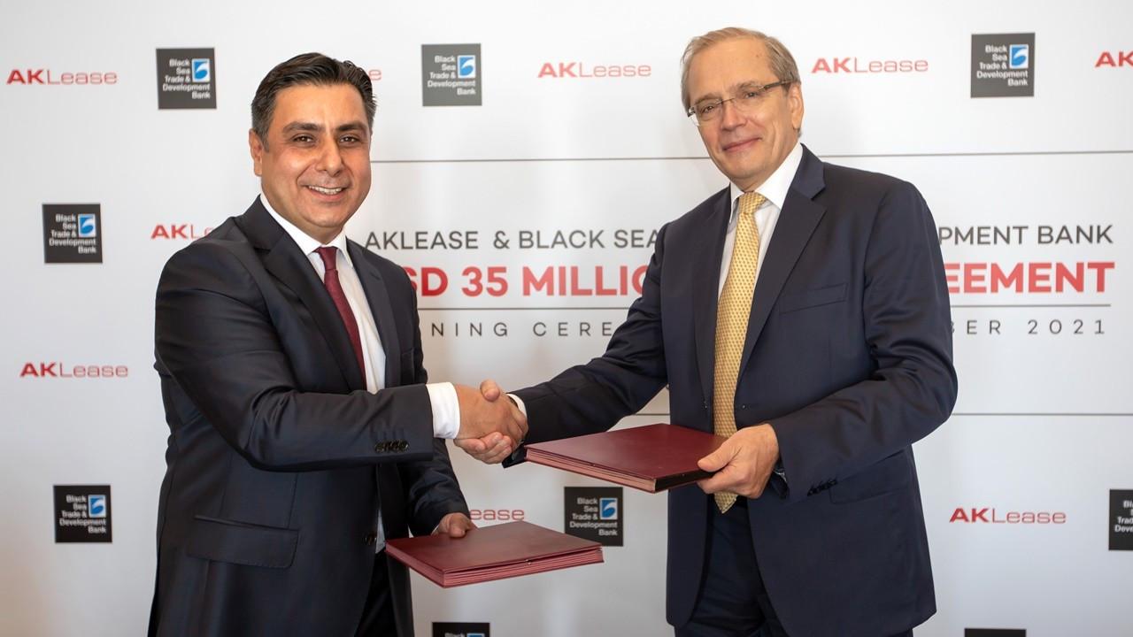 Aklease'den 35 milyon dolarlık yeni kredi anlaşması