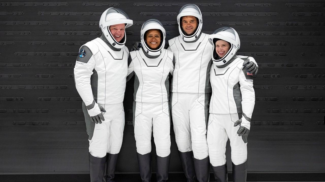 Uzay turistleri üç gün sonra yeniden dünyada