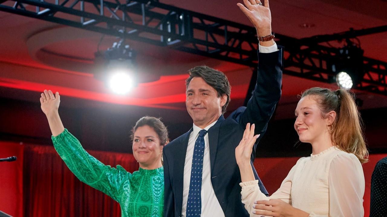 Kanada'da seçimlerin galibi Trudeau oldu: 170 vekile ulaşamadı