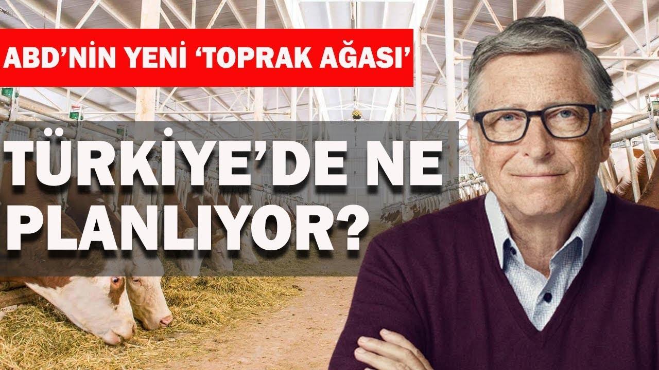 Bill Gates Trakya'dan toprak aldı mı?