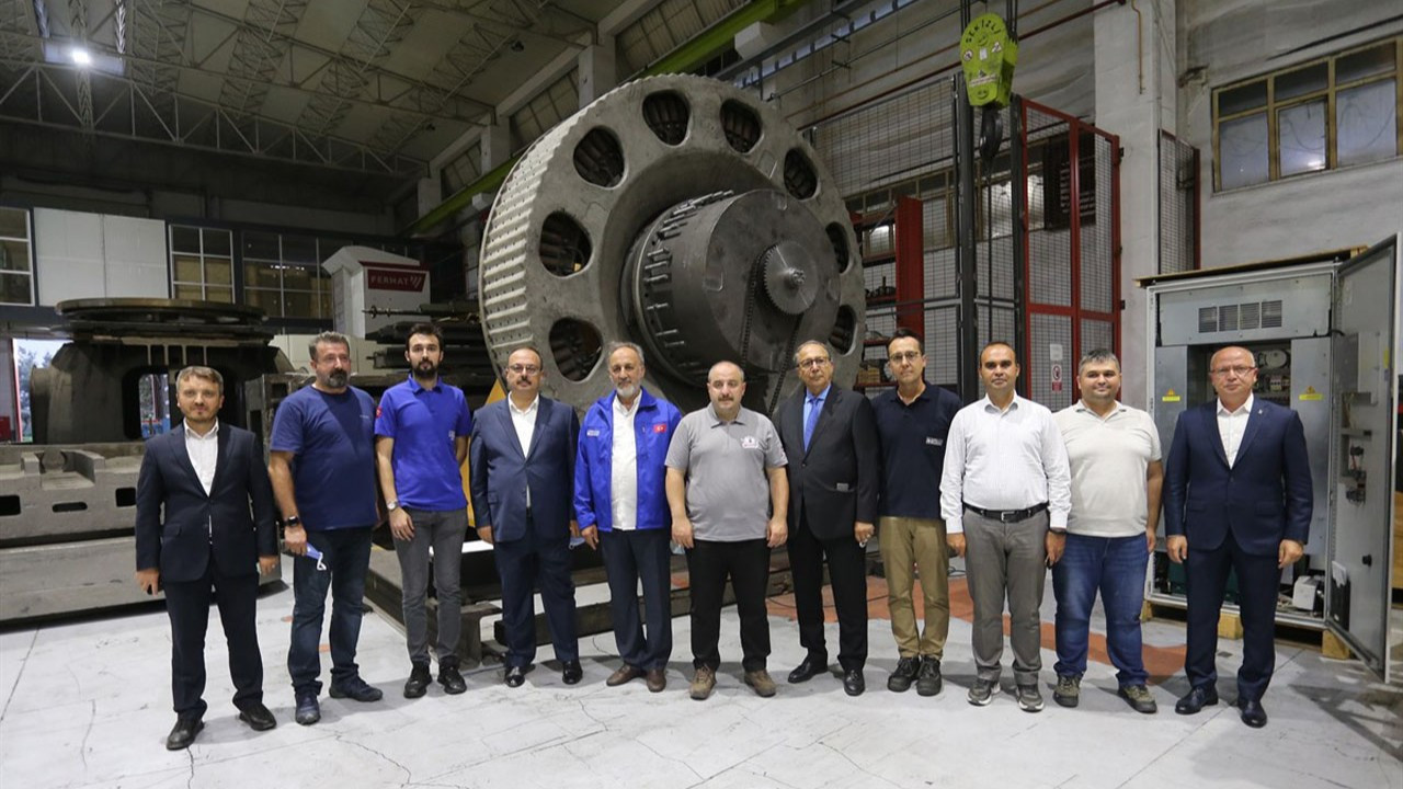 İğrek Makina, Sanayi ve Ticaret Bakanı Varank'ı ağırladı