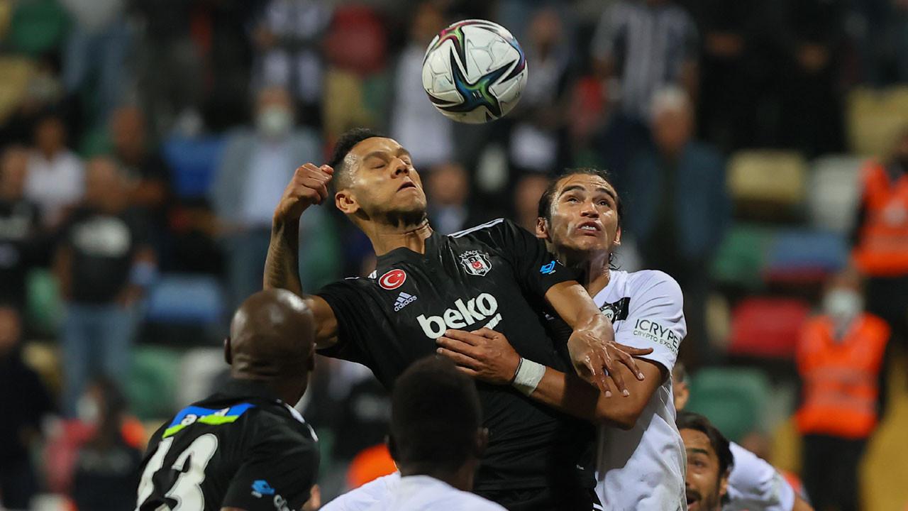 Beşiktaş, Altay deplasmanında liderliği bıraktı: 2-1