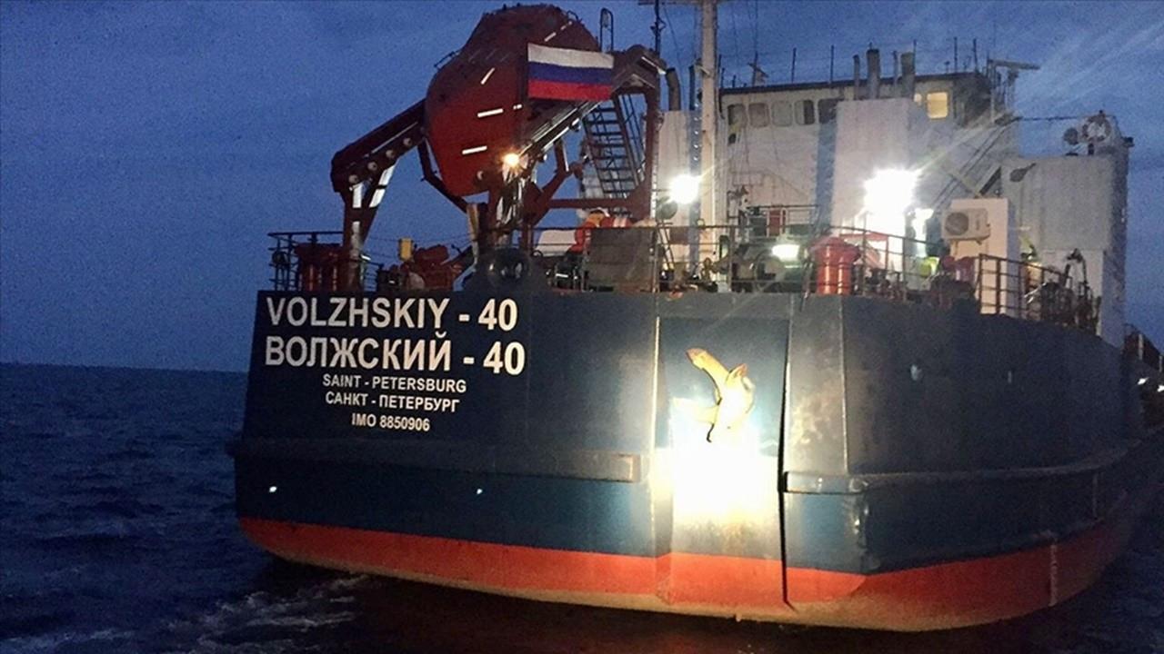Kuru yük gemisi ile balıkçı teknesi çarpıştı