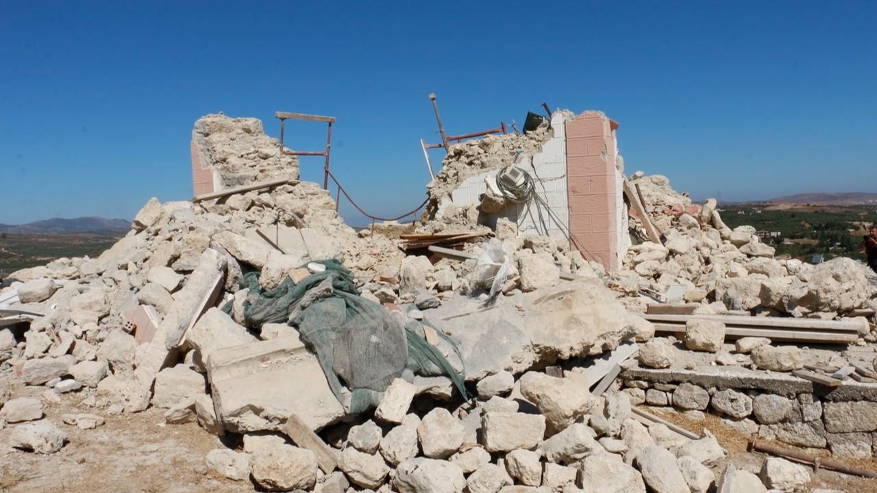 Girit Adası'nda 5.8 büyüklüğünde deprem