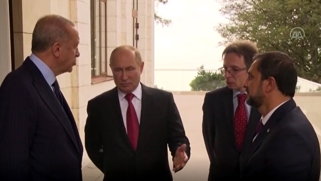 Erdoğan ve Putin arasında 'antikor' sohbeti