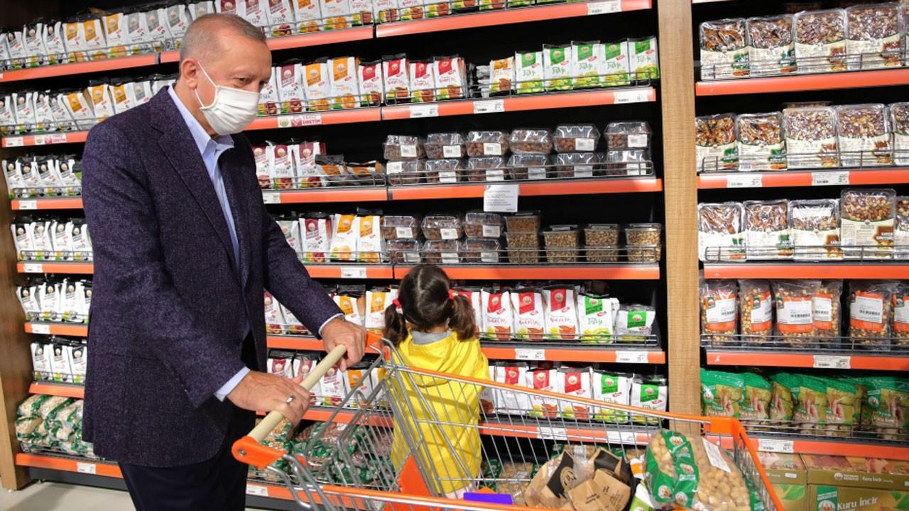 Erdoğan: Fiyatlar uygun, gayet mutluyum