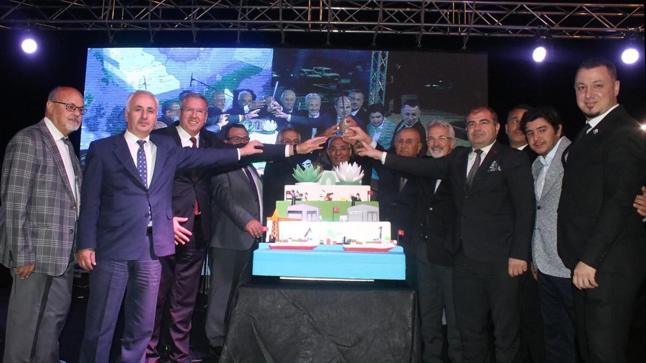 Nilüfer OSB, kuruluşunun 20'nci yılını kutladı