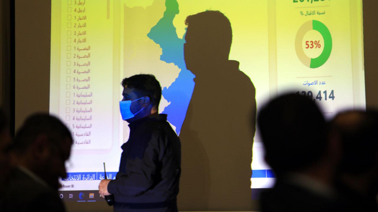 Irak seçimlerinde Sadr Grubu ipi göğüsledi