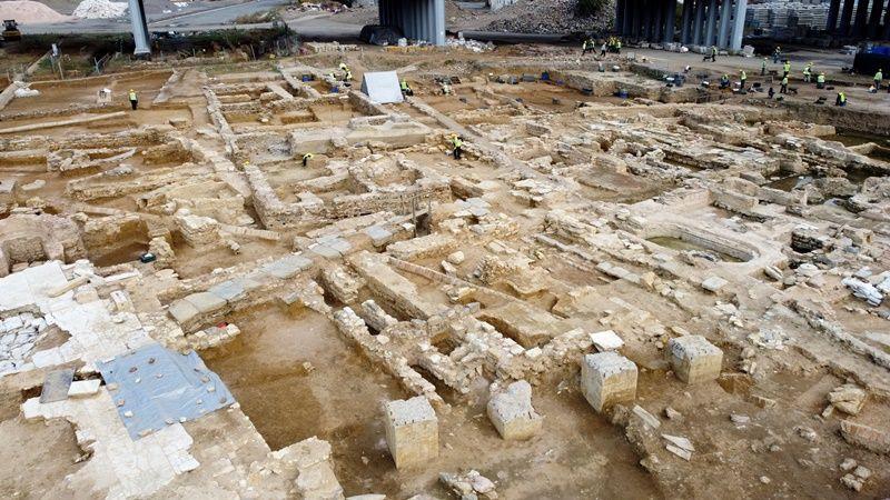 Haydarpaşa'da binlerce yıllık tarih ortaya çıkıyor - Sayfa 1