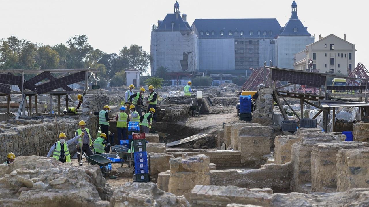 Haydarpaşa'da binlerce yıllık tarih ortaya çıkıyor