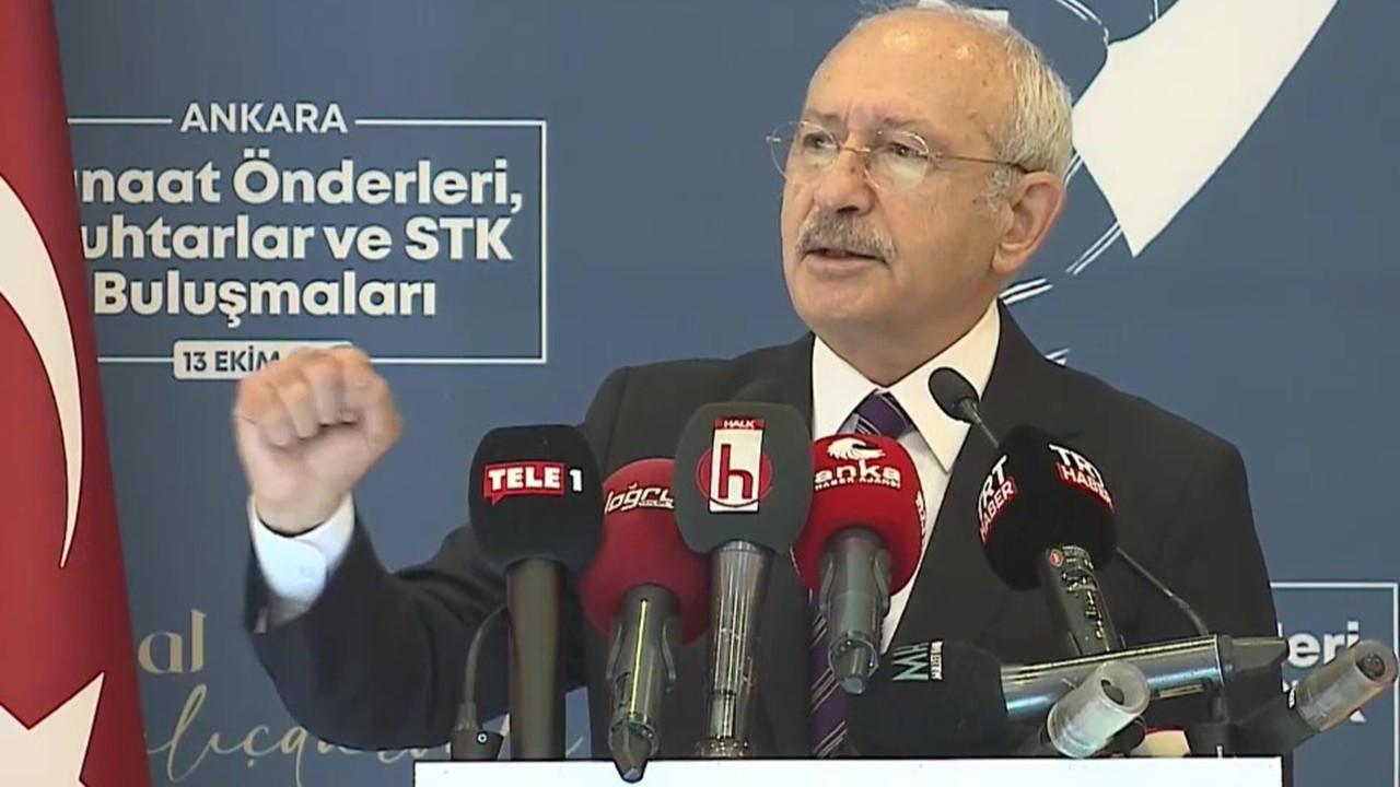 Kılıçdaroğlu'dan 'ilk dört madde' tepkisi