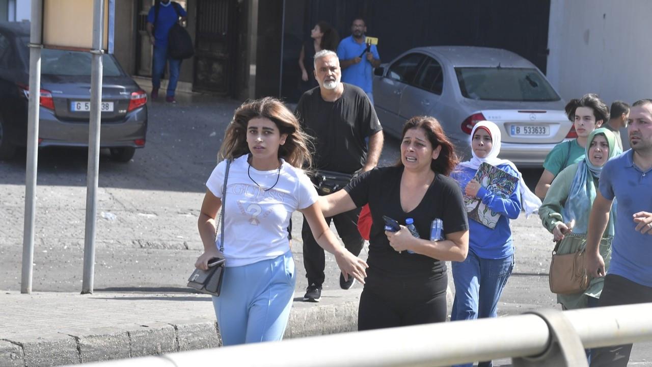 Lübnan'da protestocuların üzerine ateş açıldı: Ölü ve yaralılar var